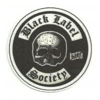 Parche textil BLACH LABEL SOCIETY 8CM X 8CM