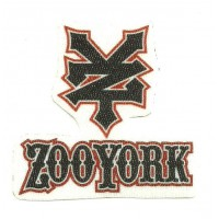 Parche textil ZOOYORK 6,5cm x 6cm