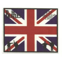 Parche textil BANDERA THE BEATLES 12,5CM X 10CM