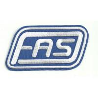 Parche bordado FAS 8,5cm x 5cm