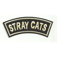 Parche bordado STRAY CATS 12cm x 4cm
