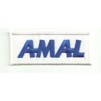 Parche bordado AMAL 8.5cm x 3,5cm