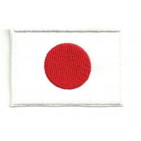 Parche bordado BANDERA JAPON 4CM x 3CM