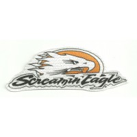 Textile patch  ref.8 HARLEY DAVIDSON SCREAMIN EAGLE  12cm x 4cm