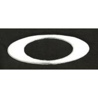 Parche bordado OAKLEY BLANCO 10cm x 3,5cm
