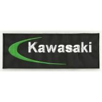Patch embroidery KAWASAKI 26cm x 9,5cm