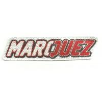 Textile patch MARC MARCHEZ 9cm x 2,5cm