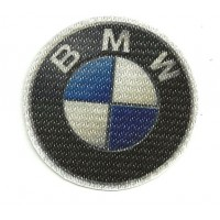 Textile patch BMW 6,5cm x 6,5cm