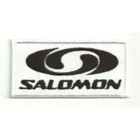 Parche bordado SALOMON 8,5cm x 4cm