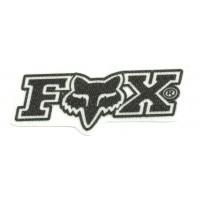 Textile patch FOX 8cm x 3cm