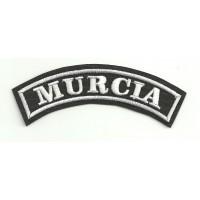 Parche bordado MURCIA 15cm x 5,5cm