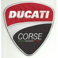 Patch embroidery DUCATI CORSE 20cm x 18,8cm