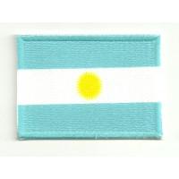 Parche bordado y textil ARGENTINA 4CM x 3CM