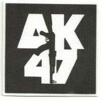 Parche textil AK 47 8,5cm x 8,5cm