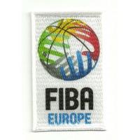 Parche bordado y textil FIBA EUROPE 5cm x 8cm