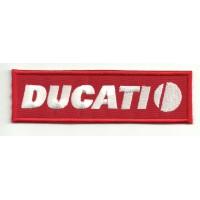 Patch embroidery DUCATI 12cm x 3,5cm