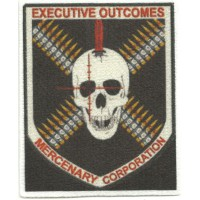 Parche textil EXECUTIVE OUTCOMES 6,5cm x 8cm