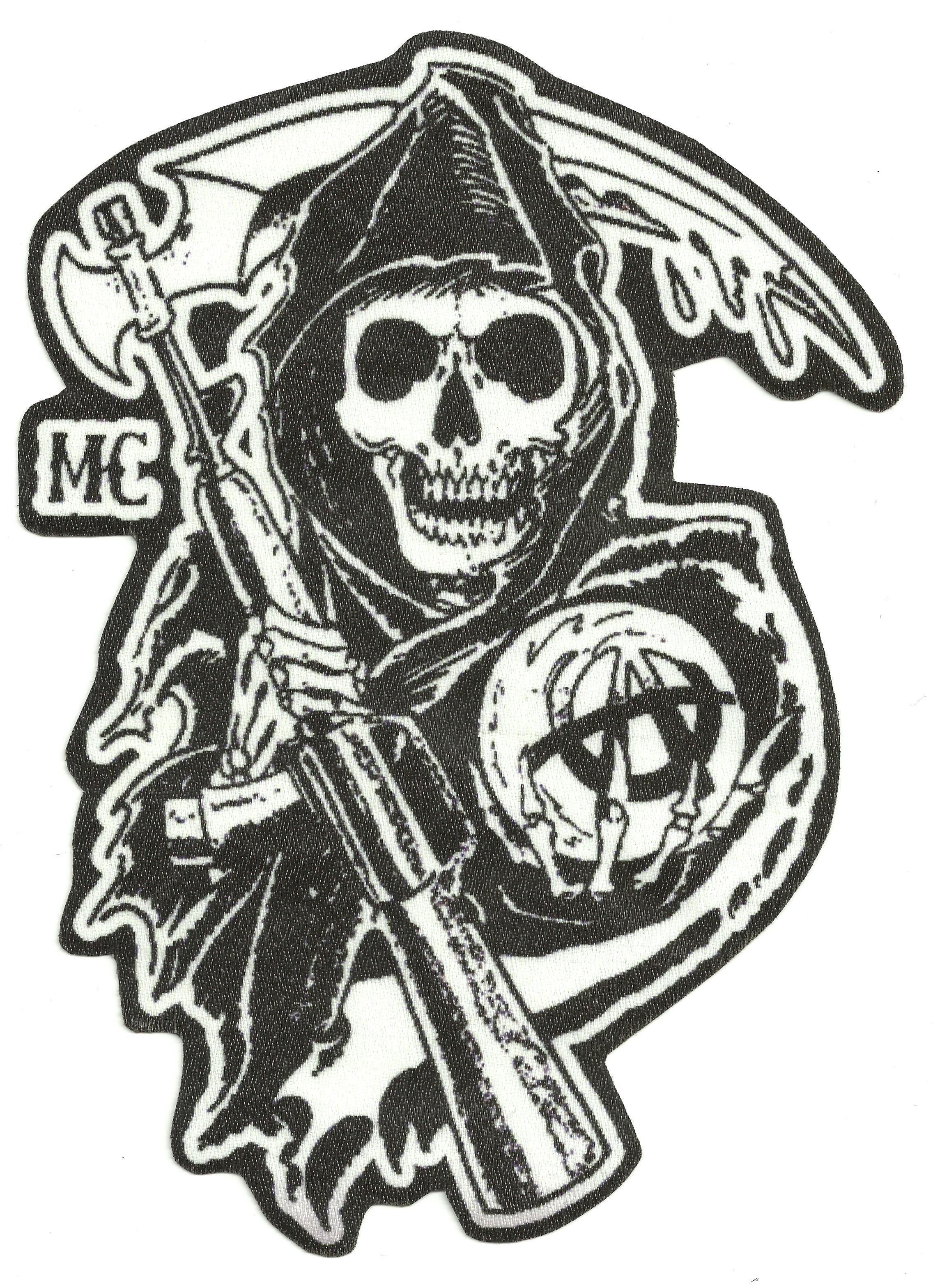 sons of anarchy patch en vente eBay