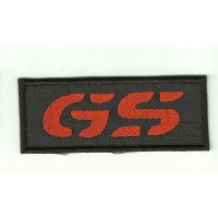 Patch embroidery BMW GS NARANJA  9cm x 3,7cm