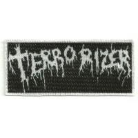 Parche textil TERRORIZER 9cm x 4cm