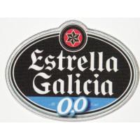 Parche bordado y textil ESTRELLA GALICIA 10,5cm x 8cm