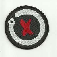 Patch embroidery JORGE LORENZO 7,5cm x 7,5cm