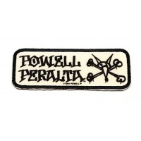 extiles and embroidered patch POWELL PERALTA 9.5 cm x 3,5c