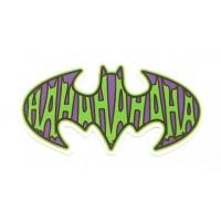Parche textil BATMAN HAHA 9,5cm X 5cm