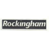 Textile patch ROCKINGHAM 11cm X 2,5cm