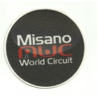 Textile patch  MISANO 8cm x 8cm
