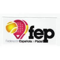 Parche textil REAL FEDERACIÓN ESPAÑOLA DE NATACIÓN 10cm x 4cm