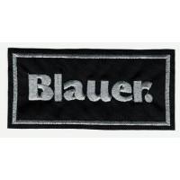 Parche bordado BLAUER 3.3cm x 4cm