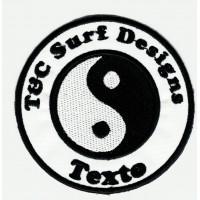 rche bordado SURF DESIGNS TU TEXTO 7.5cm