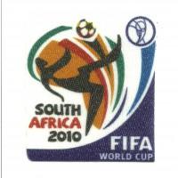 Parche textil SOUTH AFRICA 2010 FIFA 5,5cm x 6cm