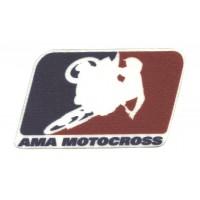 Textile patch AMA MOTOCROSS 8cm x 5cm
