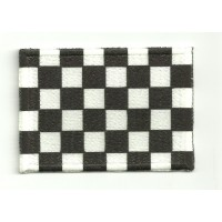 Patch embroidery BANDERA META 7CM X 5CM