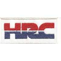 Parche bordado HRC HONDA 8.5cm x 4cm