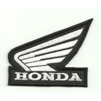 Patch embroidery ALA HONDA NEGRA 7cm x 6cm
