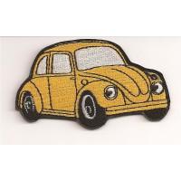 Parche bordado VW ESCARABAJO 9cm x 5,5cm