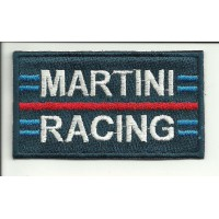 Patch embroidery MARTINI RACING 8 X 4,5CM