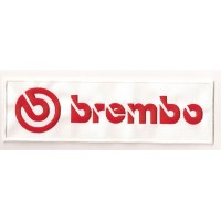 Parche bordado BREMBO 100MM X 35MM