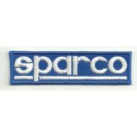 Parche bordado SPARCO 26cm x 7cm