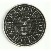 Textile patch RAMONES 8CM X 8CM