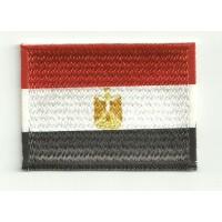 Parche bordado y textil BANDERA EGIPTO 7CM x 5CM