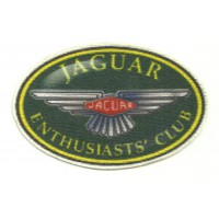 Textile patch JAGUAR CLUB 9cm x 6cm