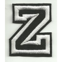 Patch embroidery LETTER Z 5cm high