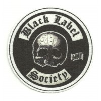 Parche textil BLACH LABEL SOCIETY 8CM X 8CM