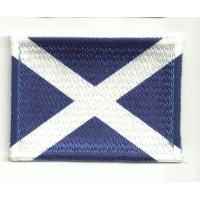 Patch embroidery and textile FLAG SCOTLAND 4CM x 3CM