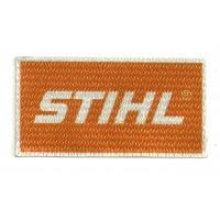 Textile patch STIHL 8cm x 4cm