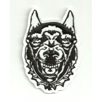 embroidery patch DOBERMALL 7cm x 10cm